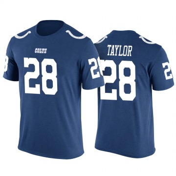 Men's Jonathan Taylor Indianapolis Colts Blue Color Rush Legend T-Shirt